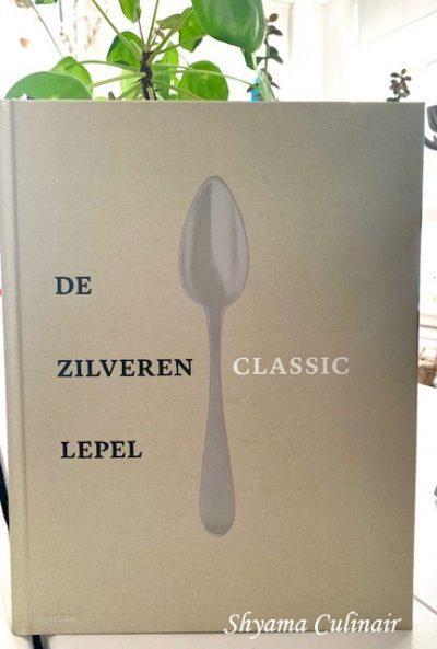 Zilveren lepel eten food